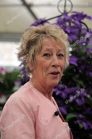 Carol Klein at the Royal Horticultural Society Chelsea Flower Show