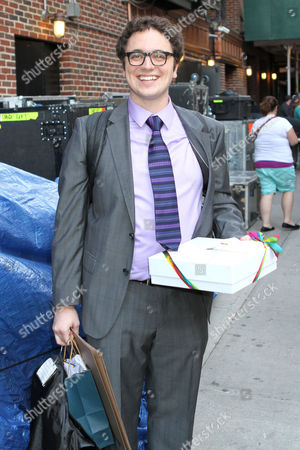 Editorial photo of 'Late Show with David Letterman', New York, America - 19 Sep 2012