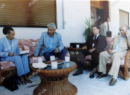 Collect Of Defected Libyan Intelligence Chief Moussa Koussa. Found At The Libyan Foreign Intelligence Agency In Tripoli.