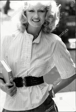 Fashion Women 1975 Model Wearing Wendy Dagworthy Fashions.