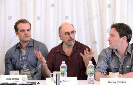 David Harbour, Richard Schiff, Jeremy Shamos