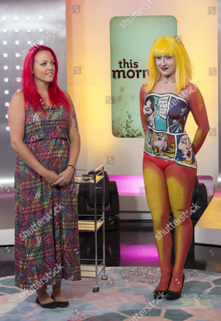 Editorial image of 'This Morning' TV Programme, London, Britain - 20 Sep 2012