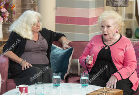 Stock Photo of Lucretia Stewart and Denise Robertson