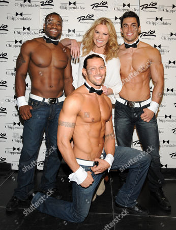 Sonia Kruger and Chippendales