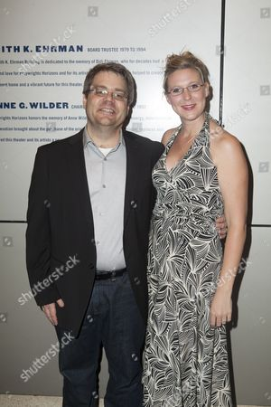 Stock Image of Kent Nicholson and Cassie Beck