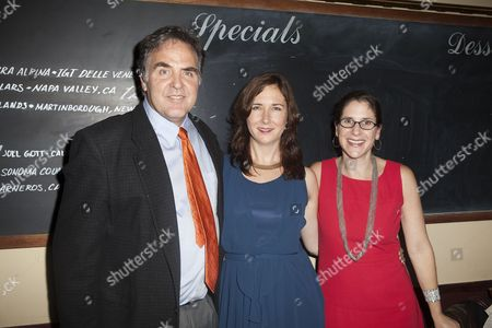 Stock Photo of Tim Sanford, Lisa D'Amour and Anne Kauffman