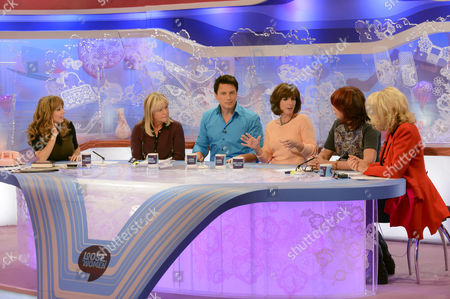 Editorial image of 'Loose Women' TV Programme, London, Britain - 20 Sep 2012