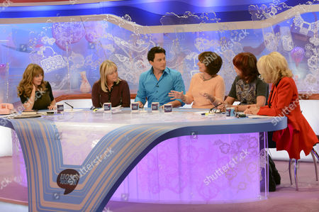 Editorial image of 'Loose Women' TV Programme, London, Britain - 20 Sep 2012