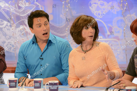 Stock Picture of John Barrowman and Carole Barrowman