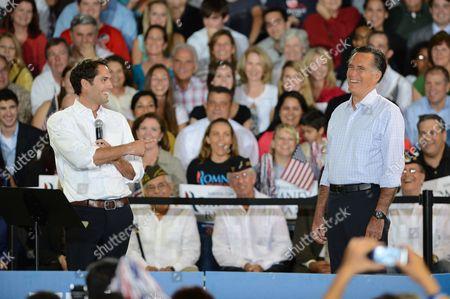 Craig Romney and Mitt Romney