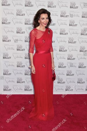 Editorial image of NYC Ballet Celebrates Fashion Designer Valentino Garavani, New York, America - 20 Sep 2012
