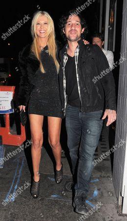 Tara Reid and Thomas Ian Nicholas