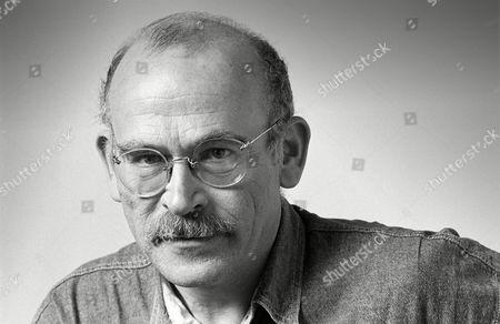 Portrait of Hans-Guenter Wallraff, German writer and journalist