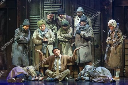 'Some Like It Hip Hop' - Shaun Smith (Centre) and the company