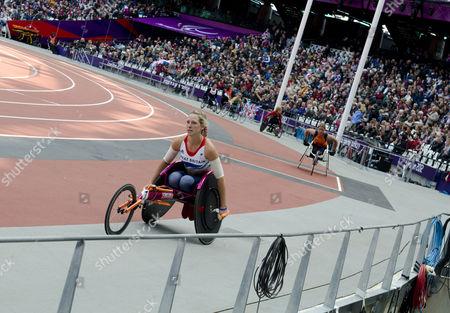 Melissa Nicholls - Women's T34 100m