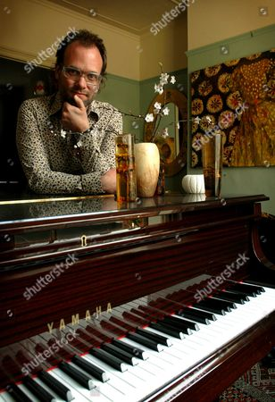 Stock Image of Joby Talbot, a Composer at His Home in Peckham, South-East London