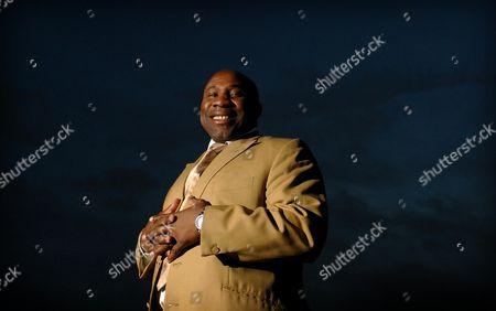Stock Image of Former Bath & England Rugby Star Victor Ubogu