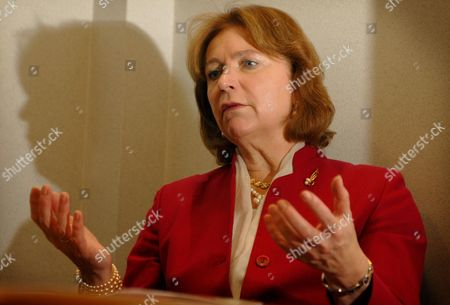 Angela Knight, New Chief Executive of the Bba (British Bankers' Association) at Their Offices in the City of London.