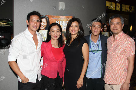 Ivan Shaw, Tina Chen, Kelly Hu Edison Chen and Jim Chu