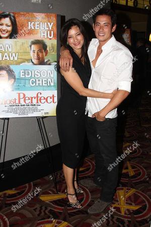 Kelly Hu and Ivan Shaw