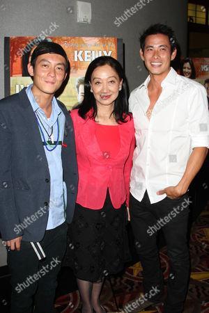 Edison Chen, Tina Chen and Ivan Shaw