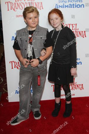 Editorial image of 'Hotel Transylvania' film premiere, Los Angeles, America - 22 Sep 2012