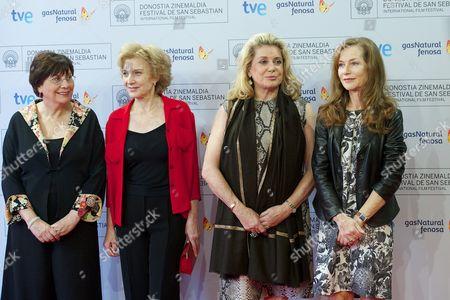 Valeria Sarmiento, Marisa Paredes, Catherine Deneuve and Isabelle Huppert