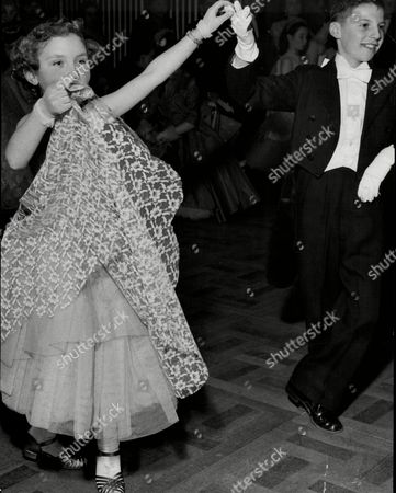 Editorial picture of Dancing Children 'ballroom Dancing' George Donaldson (11) And Mary Wilson (9) Competing In The Juvenile Old Time Dancing Contest At The Lyceum Ballroom In London.