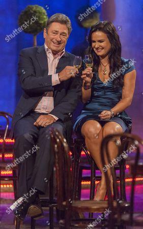 Alan Titchmarsh and Lilia Kopylova