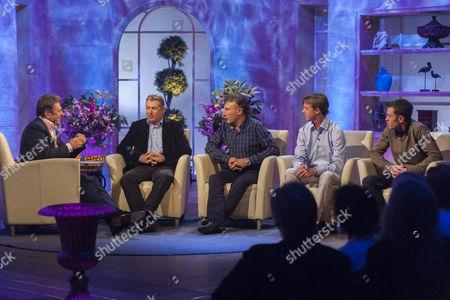 Alan Titchmarsh, Nick Skelton, Peter Charles, Ben Maher and Scott Brash.
