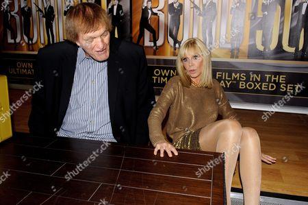 Britt Ekland and Richard Kiel