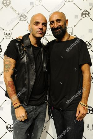 Editorial picture of Frankie Morello show, Spring Summer 2013, Milan Fashion Week, Italy - 22 Sep 2012