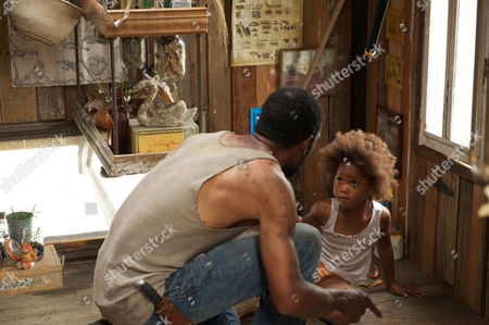 Beasts Of The Southern Wild - Dwight Henry and Quvenzhane Wallis