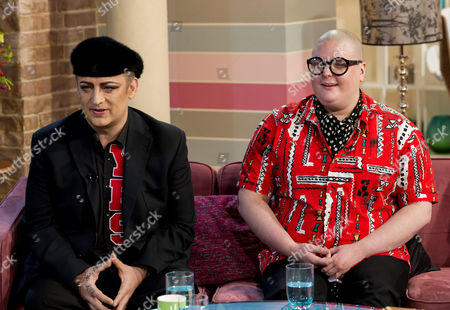 Boy George and Sam Buttery