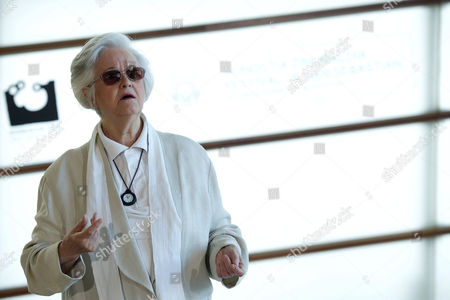 Stock Image of Spanish Actress Chus Lampreave
