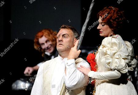 'Das Rheingold' - Bryn Terfel as Wotan and Sarah Connolly as Fricka