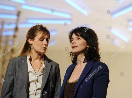 Stock Picture of 'Madamoiselle Julie' - Benedicte Cerruti as Christine and Juliette Binoche as Madamoiselle Julie