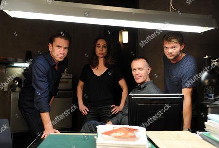 Editorial image of 'The Killing' season three TV programme photocall, Copenhagen, Denmark - 18 Sep 2012