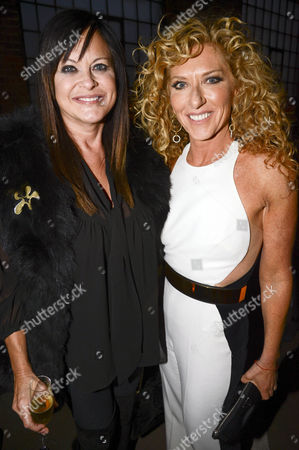 Ronnie Sassoon and Kelly Hoppen