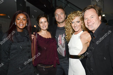 Stock Picture of Pete Tong, John Hitchcox, Phoebe Vale and Kelly Hoppen