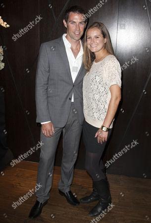 Mark Hunter and Jenny Williams