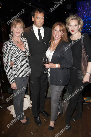 Samantha Bond, Alistair McGowan, Charlotte Page and Sara Stewart