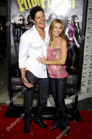 Michael Trucco and wife Sandra Hess