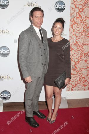 Stock Photo of Erik Palladino and wife Jaime Palladino