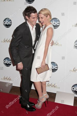 Stock Photo of David Annable and Rachael Taylor