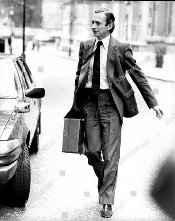 Norman Fowler Baron Fowler Of Sutton Coldfield Leaves Downing Street This Morning.