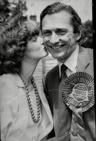 Norman Fowler Health Minister With His Wife Fiona Fowler. Baron Fowler Of Sutton Coldfield.