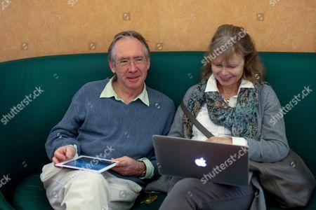 Ian McEwan and Annalena McAfee