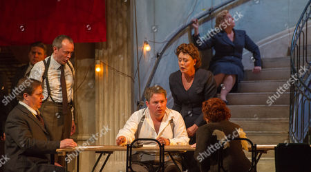 Editorial picture of 'Jephtha' performed by Welsh National Opera at the Wales Millennium Centre, Cardiff, Wales, Britain - 18 Sep 2012