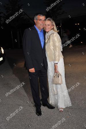 Norbert Medus and Sabine Christiansen